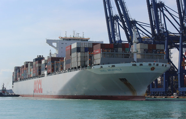 Incoterm CFR: transporte marítimo internacional y su legislación.