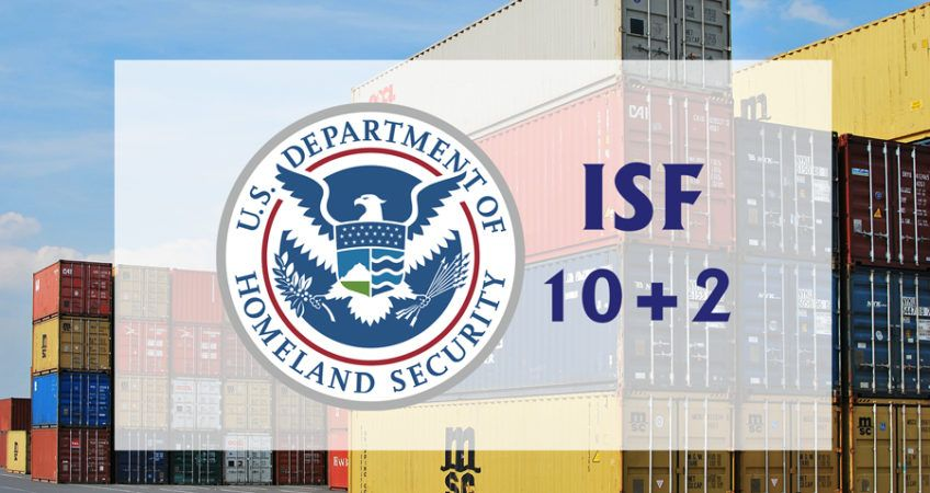 ISF 10+2 Import Security Filing