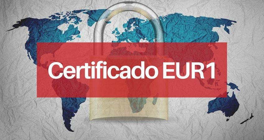 Certificado EUR1 para comercio internacional