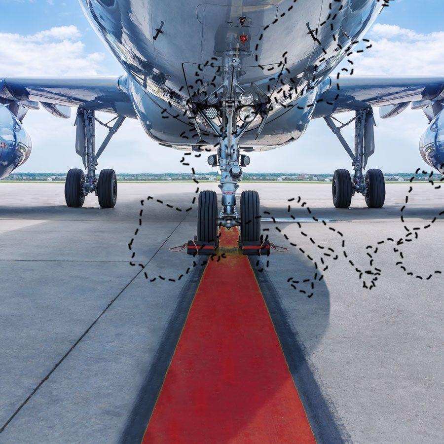 transporte aereo de mercancía
