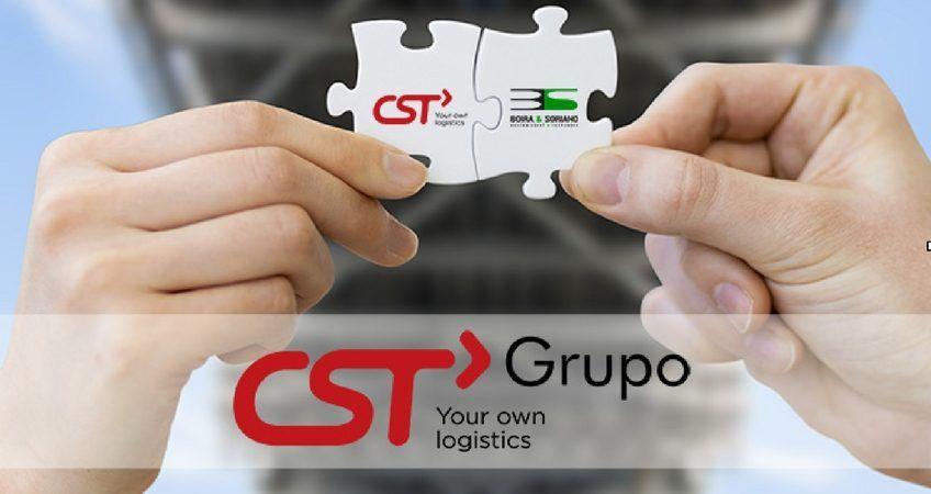 CST Grupo. Transporte de mercancías terrestre, aérea y marítima